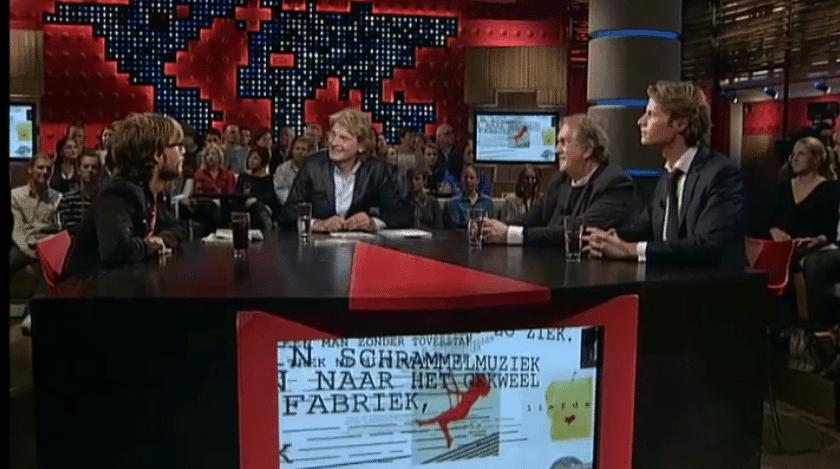 Komrij & Gauthier bij de wereld draait door 29-10-2009
