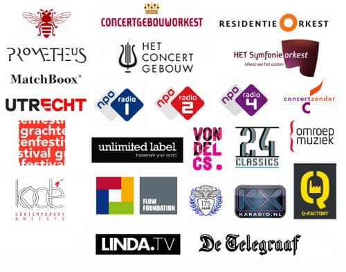 logos van samenwerkingen